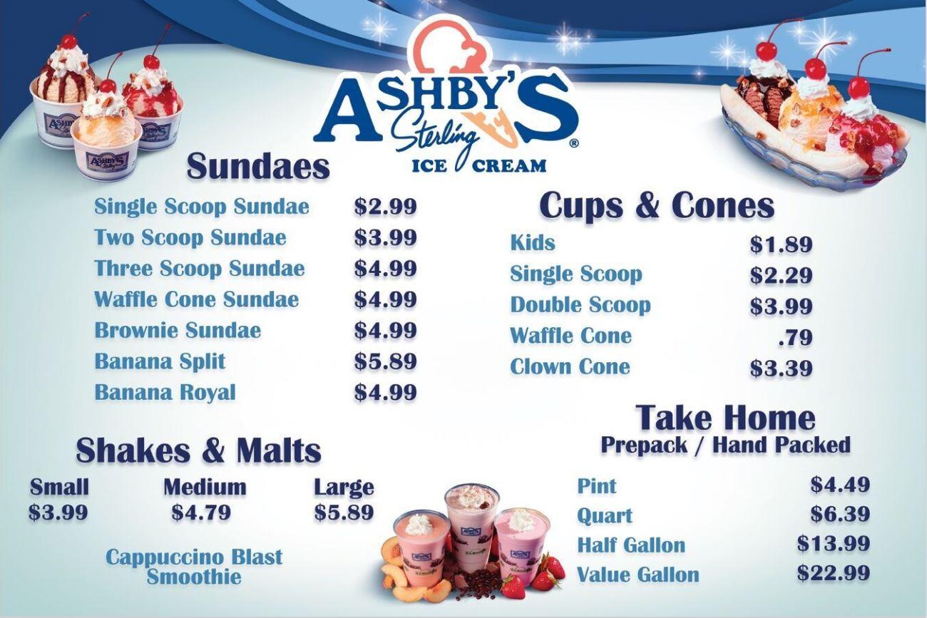 Merchandising Ashby Ice Cream
