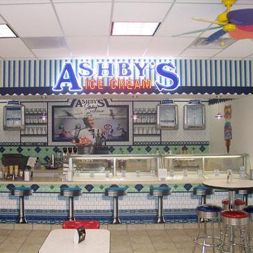 Ashby's Ice Cream Co-Branding Example