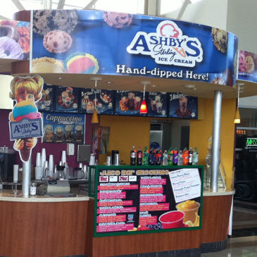 Ashby's Sterling Ice Cream Parlor Co-Branding Mall