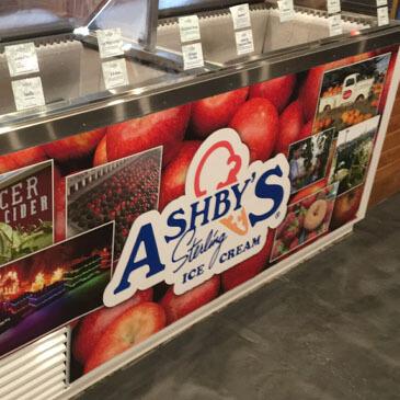 Ashby's Sterling Ice Cream Spicer Cider